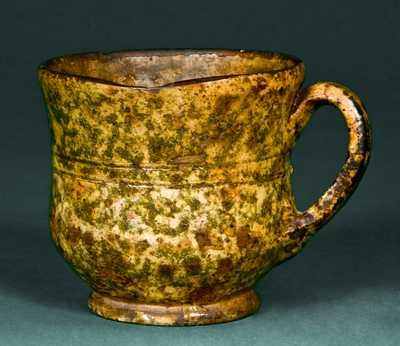BAECHER / WINCHESTER, VA Redware Cup
