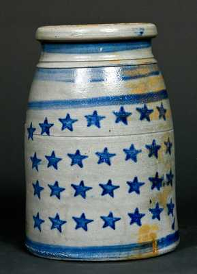 From / Jas Hamilton & Co. / Greensboro, Pa. Stoneware Canning Jar
