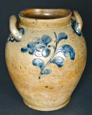 Manhattan, NY, (probably Commeraw / Corlears Hook), Stoneware Jar