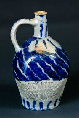Early Incised German Stoneware Jug