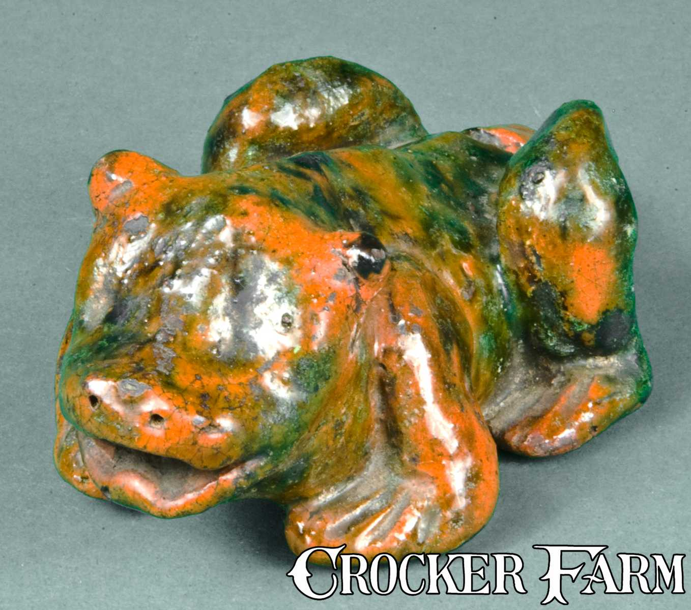 Redware Frog Whistle Probably Pa Lot 44 January 30
