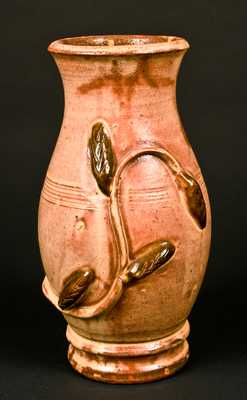 Eberly, Strasburg, VA Redware Vase