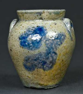 Miniature NY State Stoneware Ovoid Jar