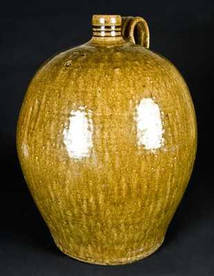 Daniel Seagle, Vale, Lincoln County, NC Stoneware Jug, Six-Gallon
