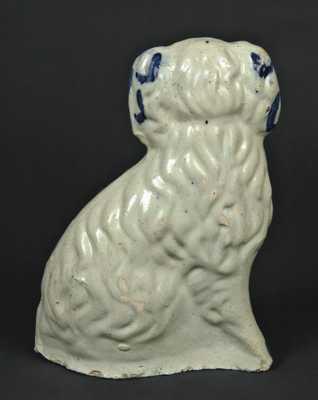 Ohio Stoneware Spaniel Figure