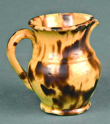 Miniature Redware Pitcher