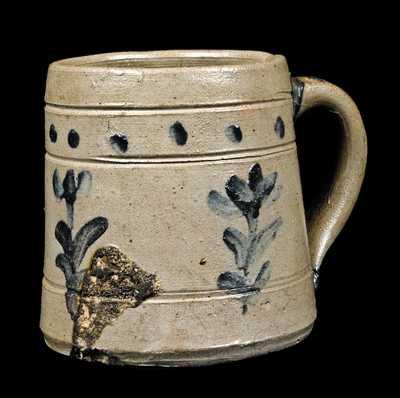 Small Stoneware Mug, attrib. Charles Decker, Tennessee