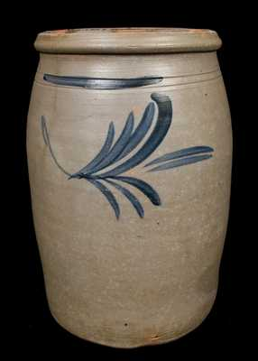 F.W. THOMPSON / Morgantown, WV Stoneware Jar