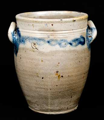 Open-Handled Stoneware Jar, New York State