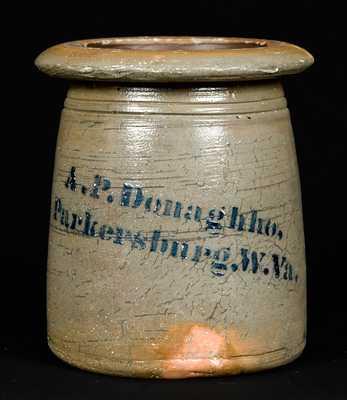A.P. Donaghho, / Parkersburg. W.Va. Stoneware