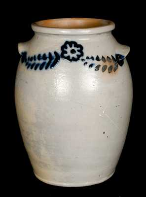 Stoneware Jar attrib. Morgan & Amoss Baltimore, circa 1820