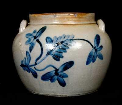 Rockingham County, VA Stoneware Squat Pot