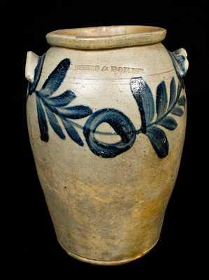 MYERS & BOKEE Baltimore Stoneware Jar