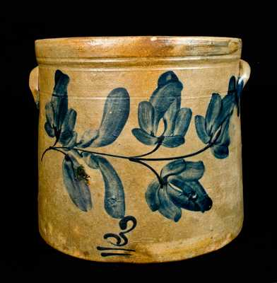 Pennsylvania Stoneware Crock, Three-Gallon