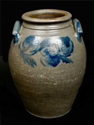 Stoneware Jar att. J. P. Schermerhorn Richmond, VA