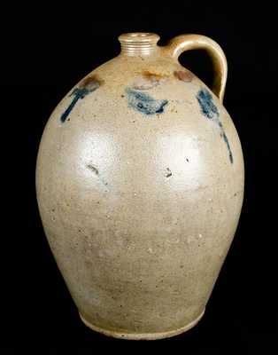 Ovoid Stoneware Jug, Old Bridge, NJ