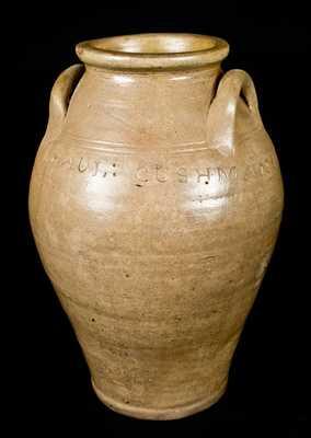 PAUL : CUSHMAN Albany, NY Stoneware Jar