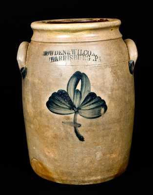 COWDEN & WILCOX / HARRISBURG, PA Stoneware Jar