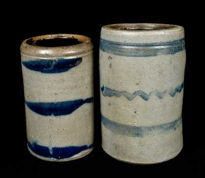 Lot of 2: Western PA Stoneware Wax Sealers