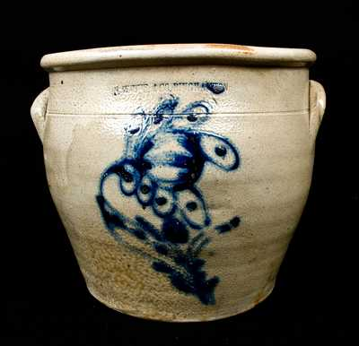 N. WHITE & CO. / BINGHAMTON Stoneware Jar