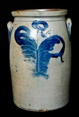 KEESEE & PARR / RICHMOND, / VA Stoneware Jar