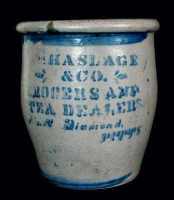 Pittsburgh, PA Stoneware TEA DEALERS Jar