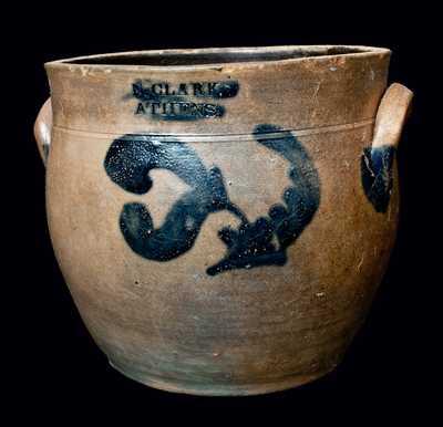 N. CLARK / ATHENS Stoneware Jar