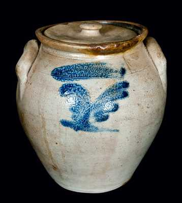 THOMAS D. CHOLLAR / CORTLAND, New York, Lidded Stoneware Jar