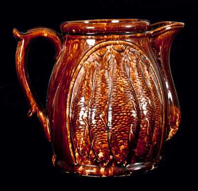 Rockingham Fish Pitcher