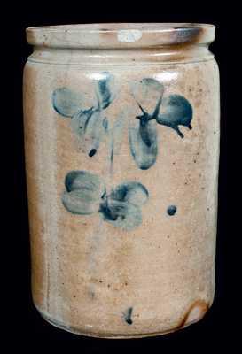 P. HERRMANN (Baltimore) Stoneware Crock
