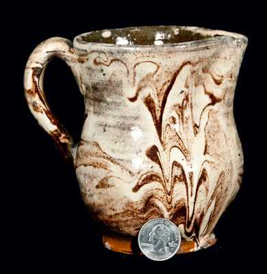 Small-Sized Redware Pitcher