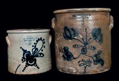 (2) Northeastern U.S. Stoneware Crocks