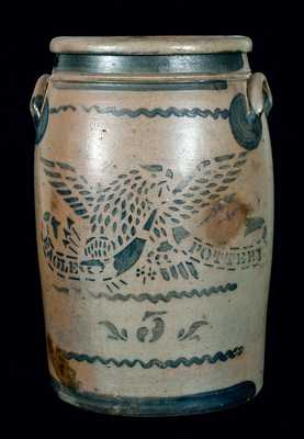 EAGLE POTTERY Stoneware Jar