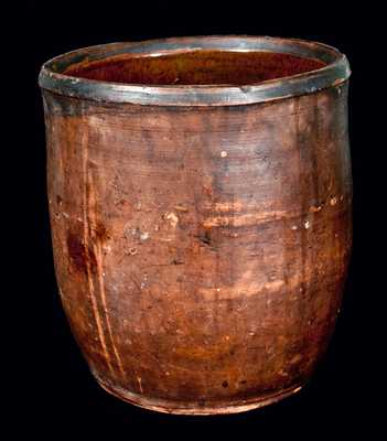 Early Redware Jar