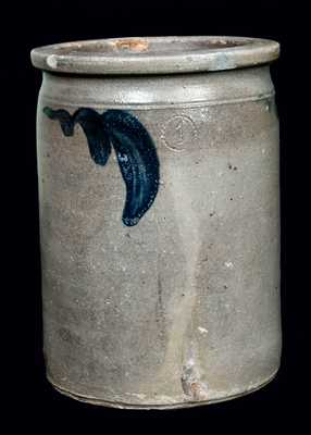 Strasburg, VA Stoneware Jar, probably J.M. Hickerson