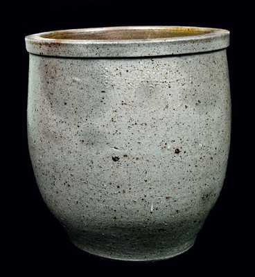 S. BELL & SON / STRASBURG Stoneware Cream Jar