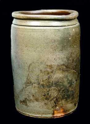J. EBERLY & BRO. / STRASBURG VA Stoneware Jar