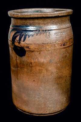 SOLOMON BELL / STRASBURG / Va Stoneware Jar