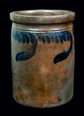 L.D. FUNKHOUSER & CO. / STRASBURG, VA Stoneware Jar