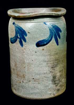 Stoneware Jar attrib. W.H. Lehew, Strasburg, Virginia