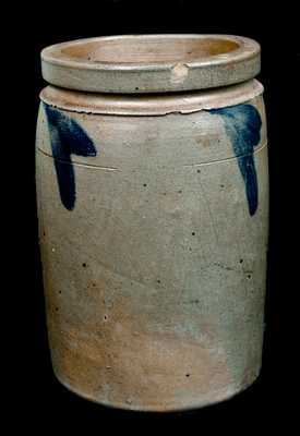 R.J. Grier, Chester County, PA Stoneware Jar