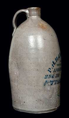 Pittsburgh Stoneware Advertising Jug
