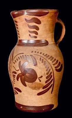 Large-Sized Tanware Pitcher (New Geneva, PA)