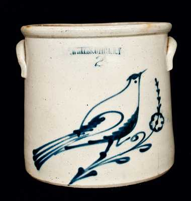 WHITES UTICA Stoneware Bird Crock