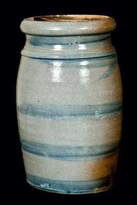 Western PA Stoneware Striped Wax Sealer