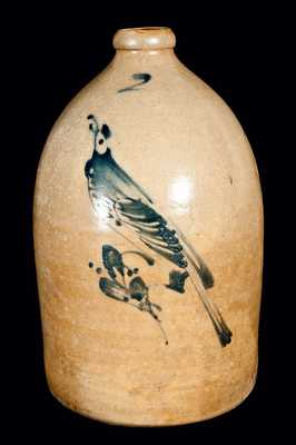 New York Stoneware Bird Jug