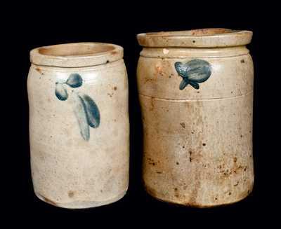 (2) Baltimore, Maryland, Stoneware Jars