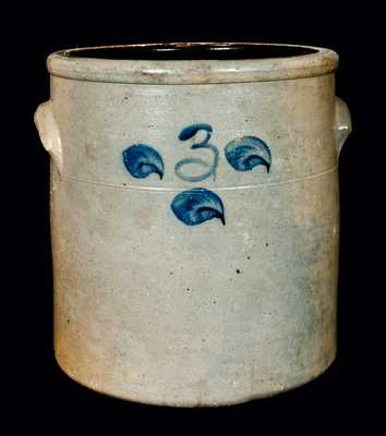 Probably New Jersey Stoneware Crock