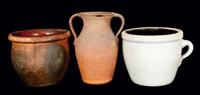 (3) Pieces of American Pottery
