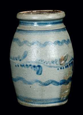Western PA Ovoid Stoneware Canning Jar